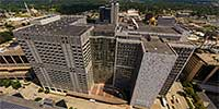 Mayo Clinic in downtown Rochester, MN