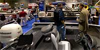 Boats at MN Sportsmen's Show in River Centre