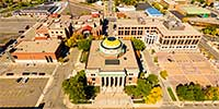 Stearns County Courthouse Aerial