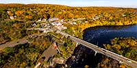 Taylors Falls Scenic Boat Tours Aerial