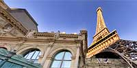 The Eiffel Tower at Paris Las Vegas