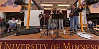 University of Minnesota band at the State Fair
