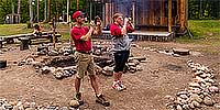 Tomahawk Scout Reservation Logging Camp