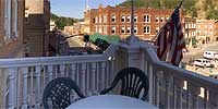 360 degree panorama of Deadwood, SD.