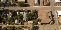 360 degree aerial panorama over Lazelle and Middle in Sturgis, SD.