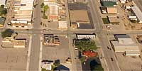 360 degree aerial panorama over Main and Middle in Sturgis, SD.